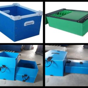 PP box and separator