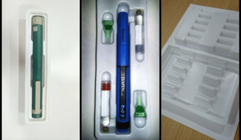 vials trays - Blister Forming Products